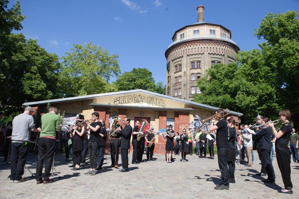 Zentralkapelle Berlin: Theaterprojekt stadtmusik am Prenzlauer Berg 2014