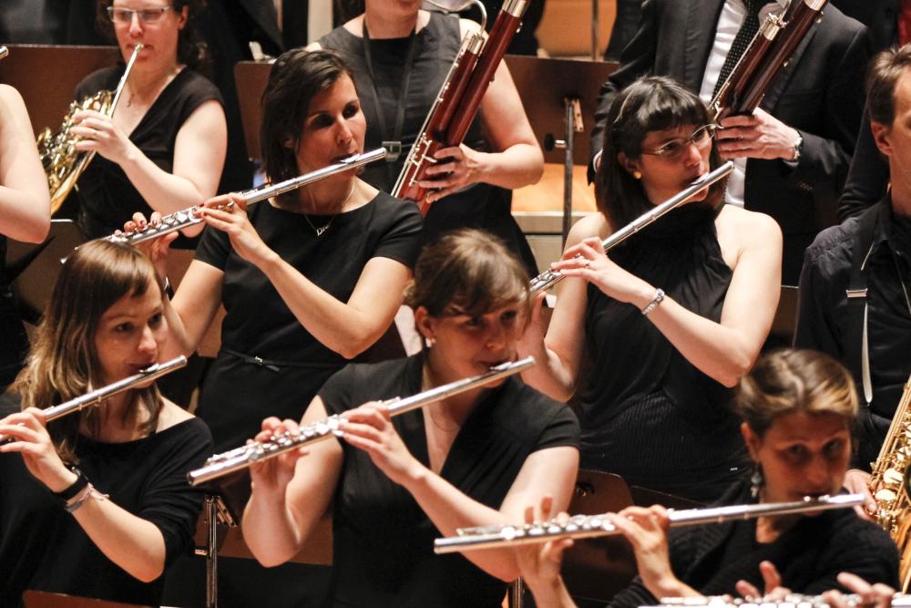 Flöten-Register der Zentralkapelle Berlin, Blasorchester