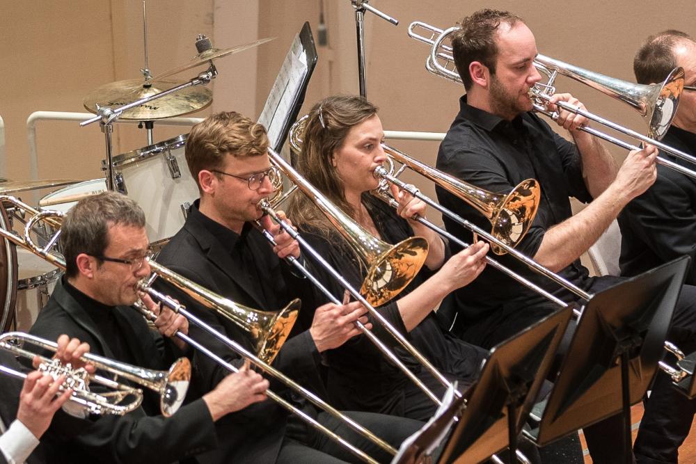 Zentralkapelle Berlin Posaunen in der Philharmonie