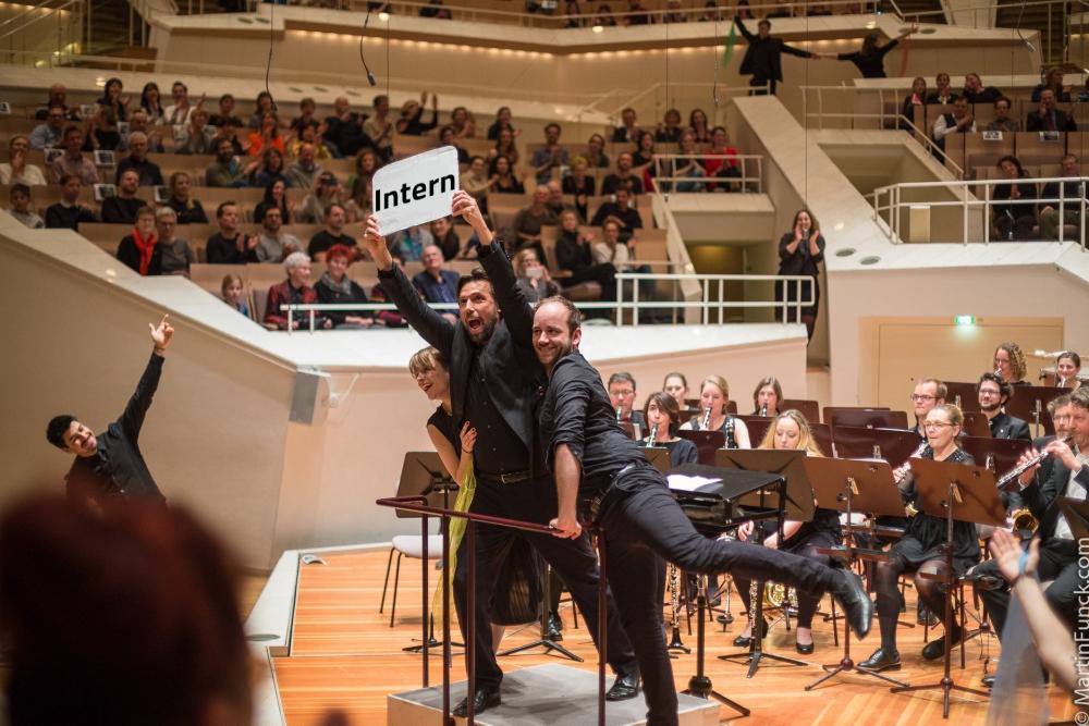 Zentralkapelle Berlin Tanz in der Philharmonie